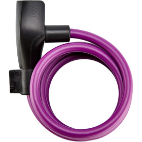 Axa Resolute 8 Kabelslot Ø8mm 120cm, royal purple